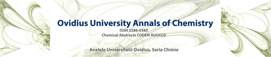 Analele Universitatii Ovidius din Constanta – Seria Chimie